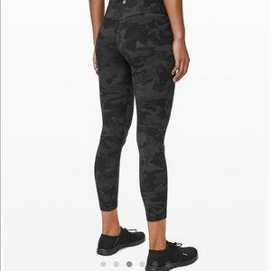 Lululemon align gray camo pants